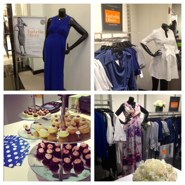Isabella Oliver Trunk Show Event at Destination Maternity NYC