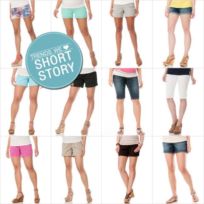 Trends We Love: Maternity Shorts