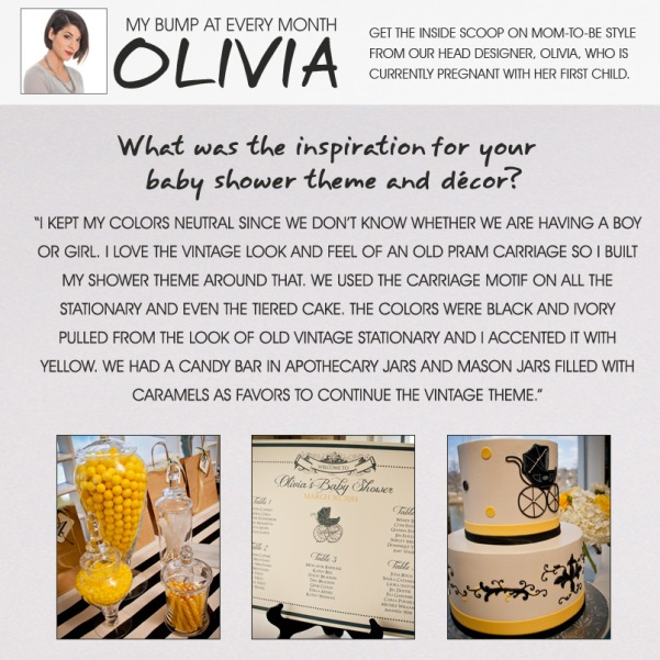 Olivia's Tips- Baby Shower Edition