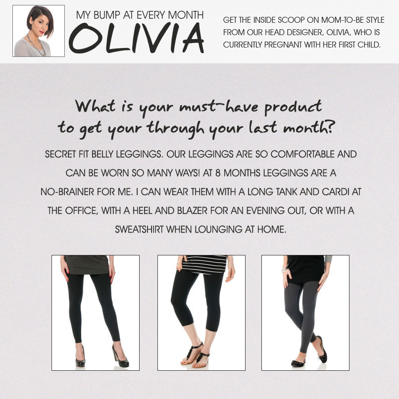 Olivia's Tips- The Final Stretch