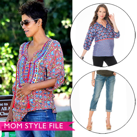 Mom Style File: Halle Berry