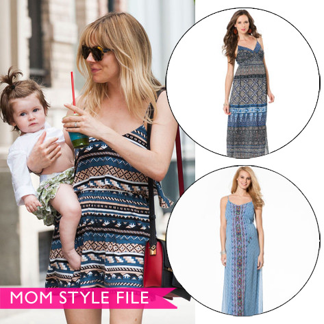 Mom Style File: Sienna Miller