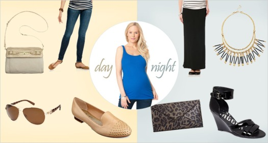 Day to Night Maternity Looks