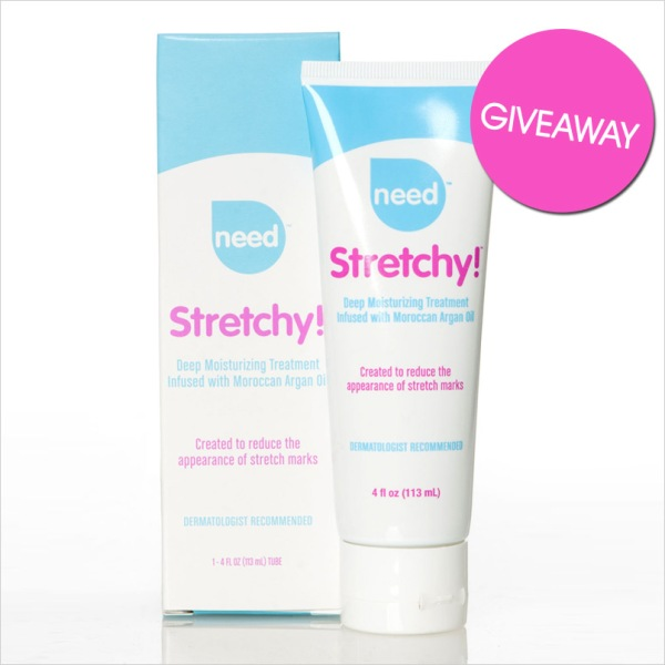 Stretchy, maternity skin care
