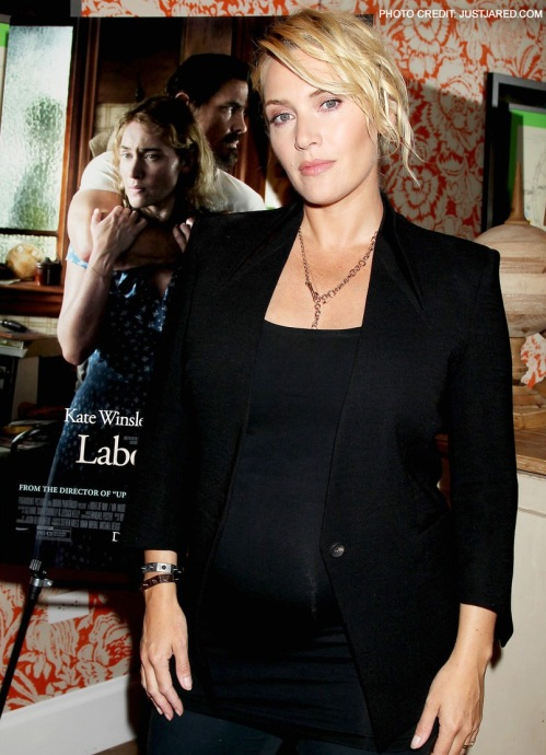 kate winslet maternity clothes