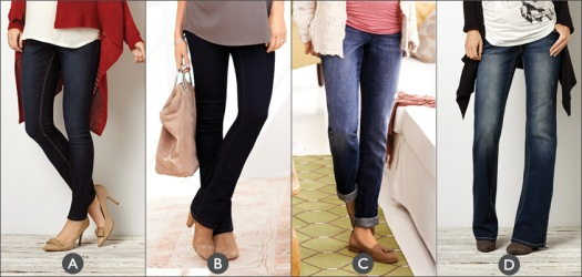 maternity denim