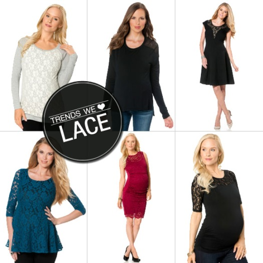 lace maternity clothes