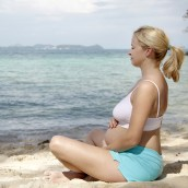 Deep Belly Meditation. Photo source: fitpregnancy.com, shutterstock.com