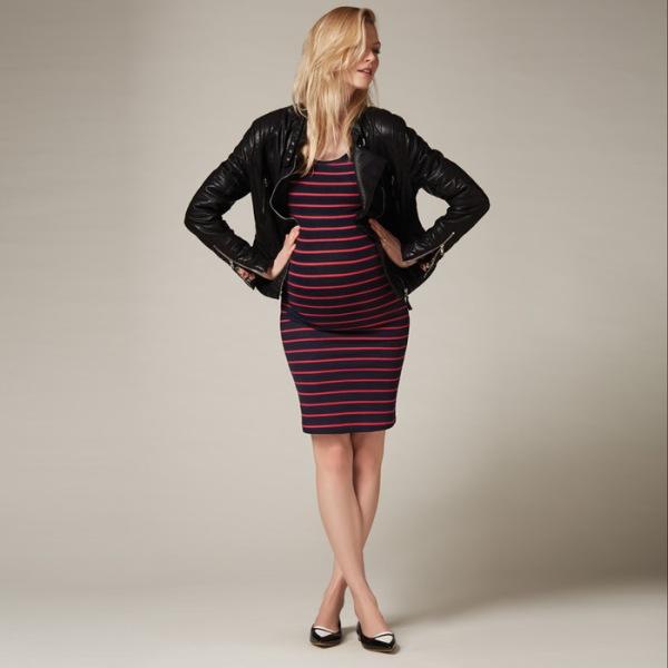 maternity tee dress