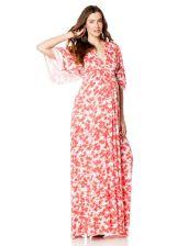 Rachel Pally Elbow Sleeve Dolman Sleeve Maternity Dress