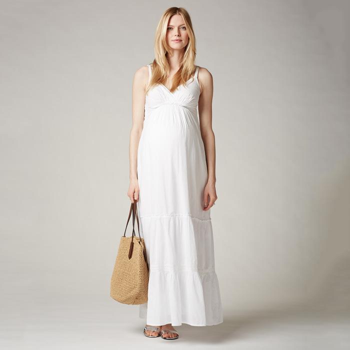 Spaghetti Strap Maternity Dress