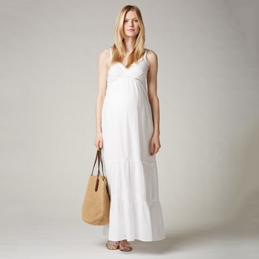 Seraphine Spaghetti Strap Lightweight Maternity Dress