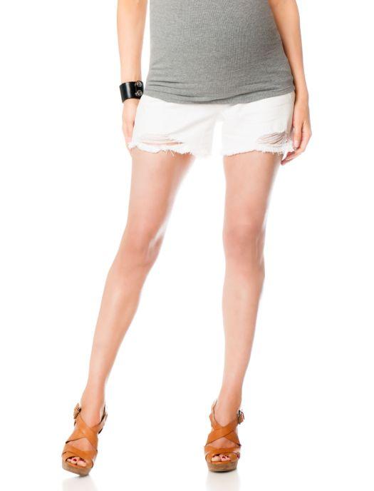Jessica Simpson Secret Fit Belly® 5 Pocket Maternity Shorts