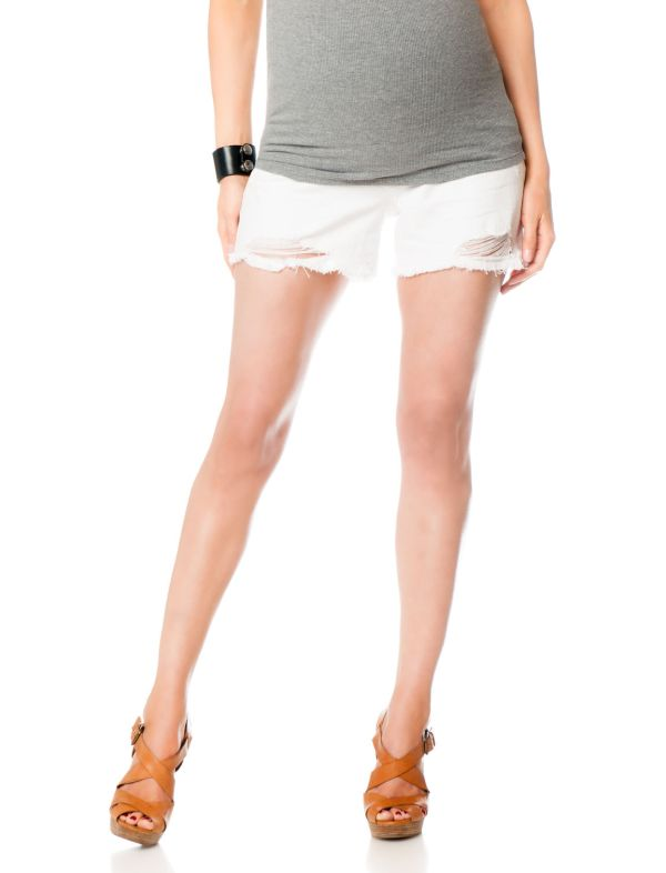 Jessica Simpson Secret Fit Belly® 5 Pocket Maternity Shorts