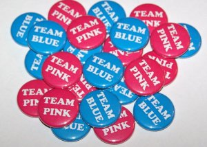 team blue and pink