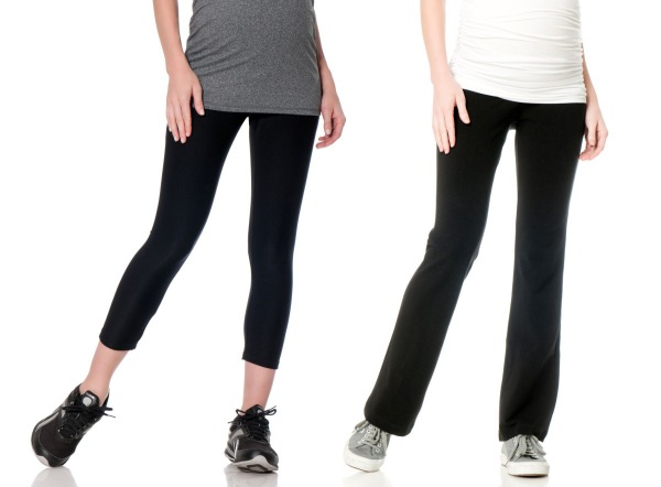 f5ac979ed8417 Yoga Pants + Leggings: Whether you're taking prenatal yoga, going for a run  or running errands, leggings and yoga pants are perfect for when you are on  the ...