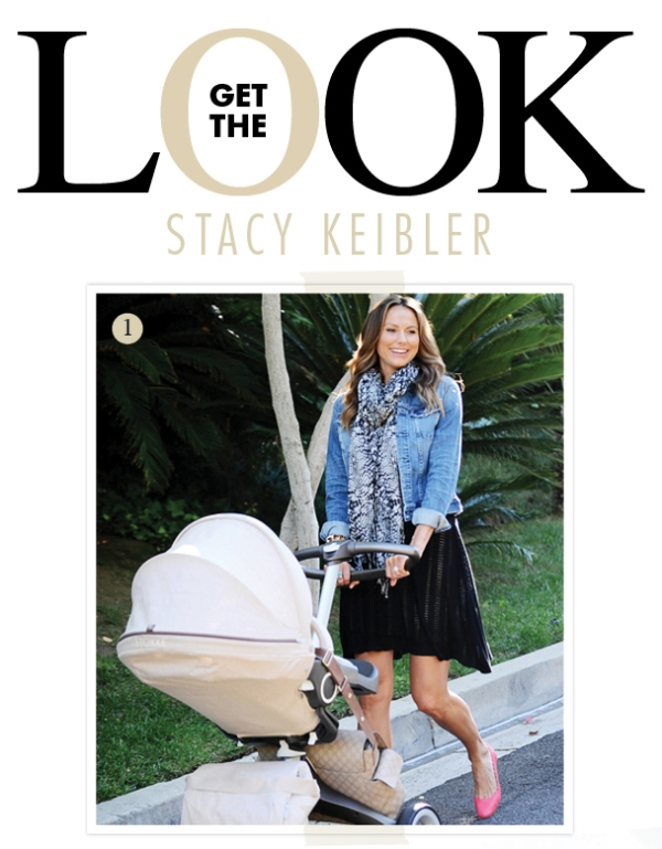 Stacy Keibler New Mom Style