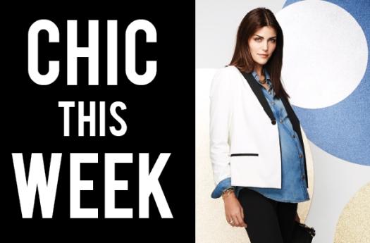 Maternity Style Tuxedo Jacket