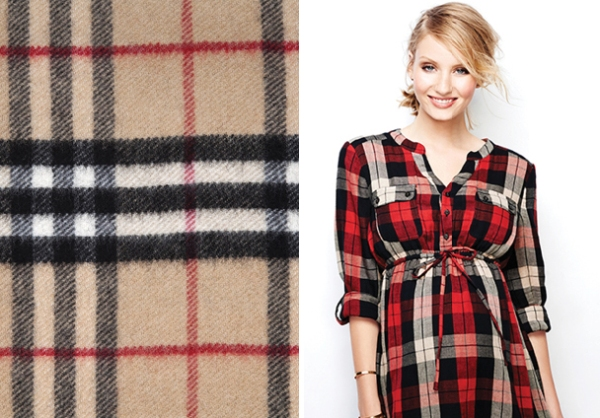 Maternity Plaid