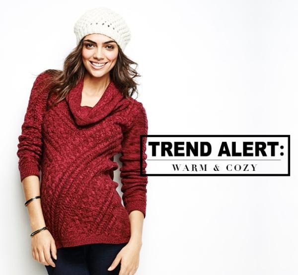 Trend Alert: Warm & Cozy