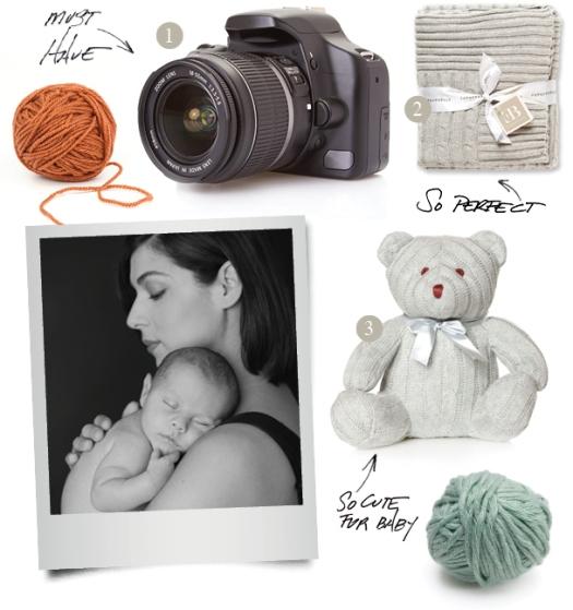 Winter Newborn Baby Photos