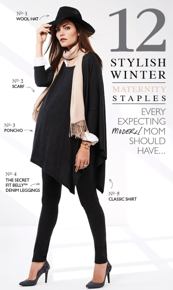 Winter Maternity Staples Every Expecting Modern Mom Should Have