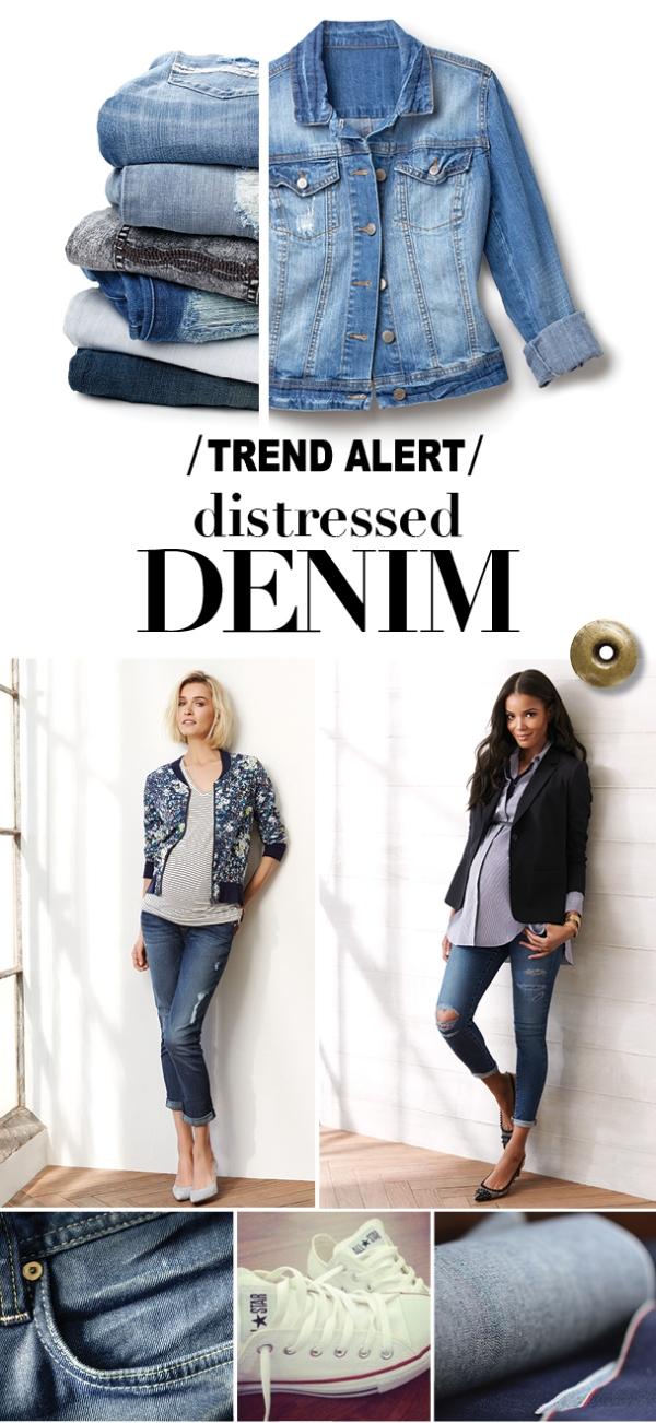Trend Alert: Distressed Denim
