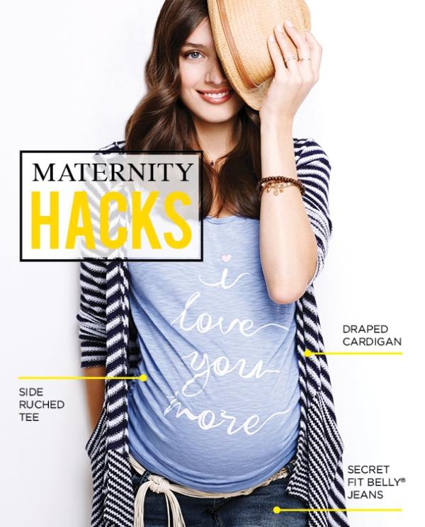 Maternity Hacks
