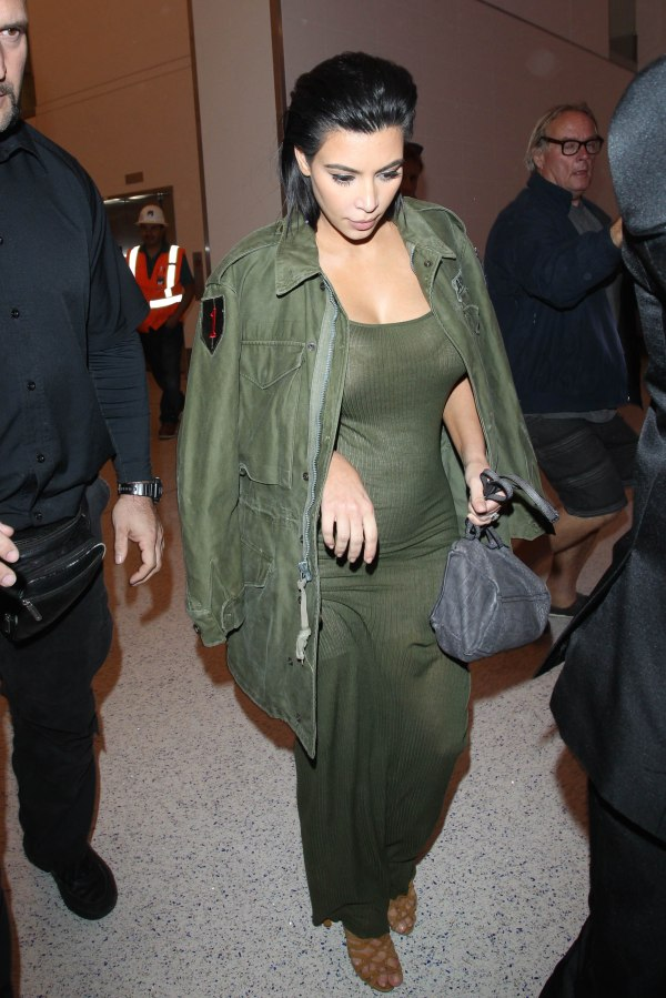 LOS ANGELES, CA - JUNE 02: Kim Kardashian is seen at LAX. on June 02, 2015 in Los Angeles, California.  (Photo by GVK/Bauer-Griffin/GC Images)