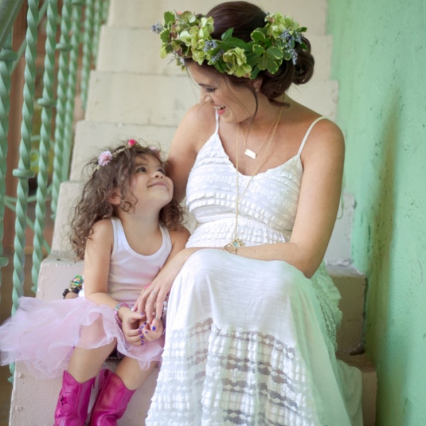 Wearing: A Pea in the Pod Spaghetti Strap Lace Maternity Maxi // Photo Credit: Simply Captivating Photography