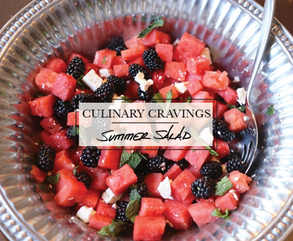 watermelon summer salad recipe