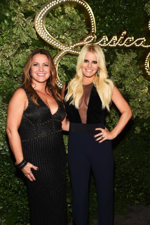 Jessica + Mom, Tina (Photo by Jamie McCarthy/Getty Images for Jessica Simpson Collection)