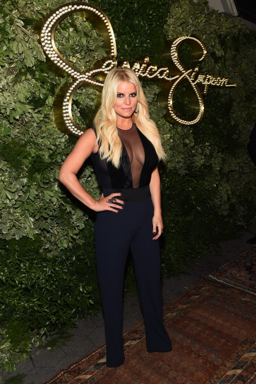 NEW YORK, NY - SEPTEMBER 09: Jessica Simpson attends the 10th Anniversary Celebration of the Jessica Simpson Collection at Tavern on the Green on September 9, 2015 in New York City. (Photo by Jamie McCarthy/Getty Images for Jessica Simpson Collection) *** Local Caption *** Jessica Simpson