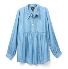 Pleated Tencel Babydoll - Jaime King's Holiday Capsule Collection for A Pea in the Pod