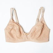 Rosie Pope Materity Wireless Unlined Bra Nude