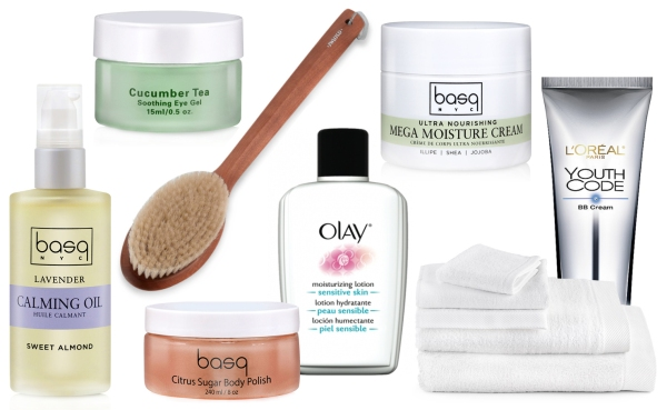 Image of Skin Care Products Including basq NYC