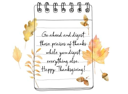 thankful post